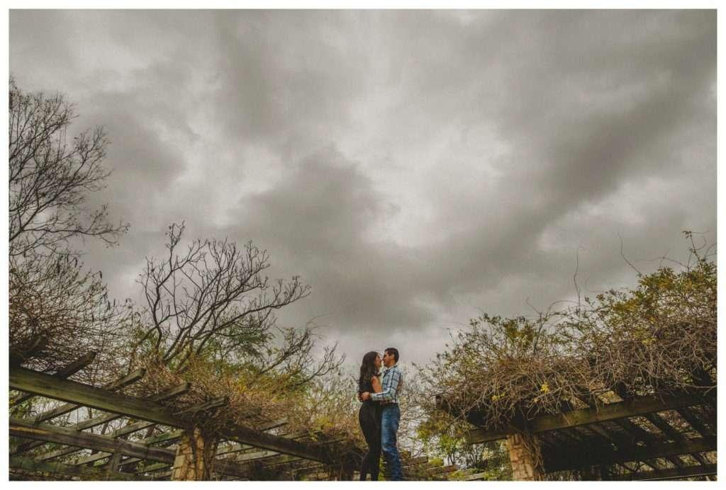 Nia and Robert Engagement Session San Antonio Botanical Garden-12