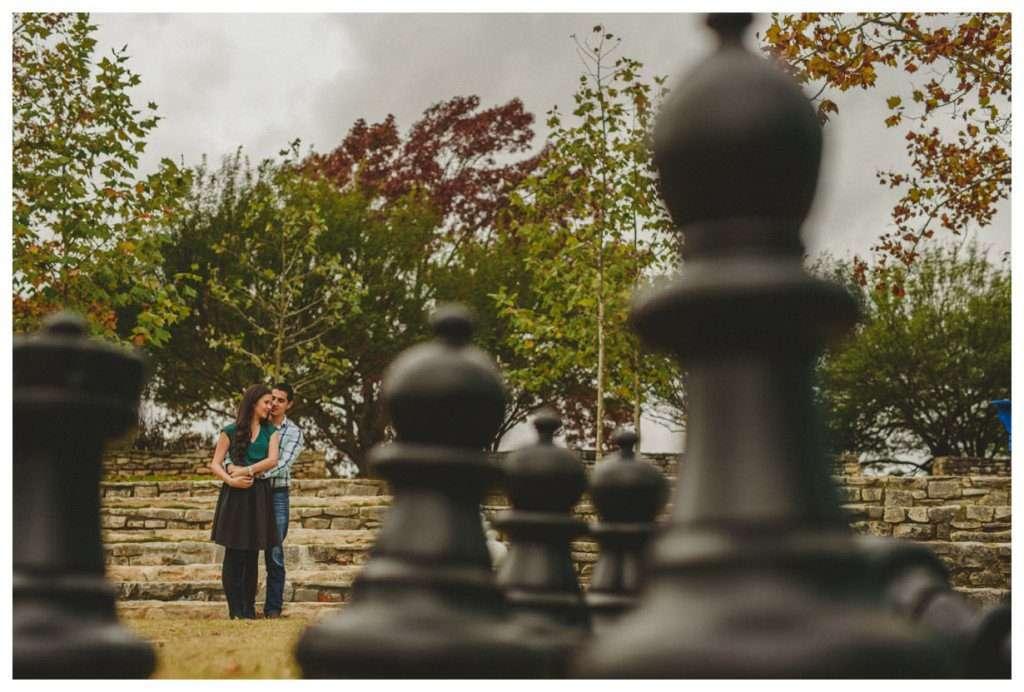 Nia and Robert Engagement Session San Antonio Botanical Garden-49