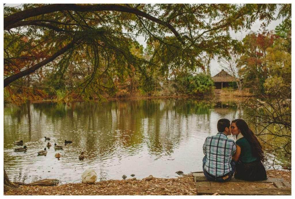 Nia and Robert Engagement Session San Antonio Botanical Garden-61