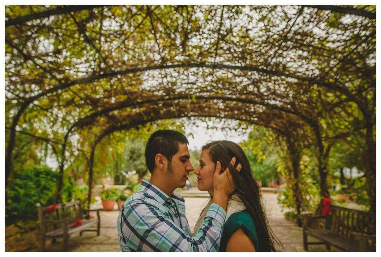 Nia and Robert Engagement Session San Antonio Botanical Garden-94 ...