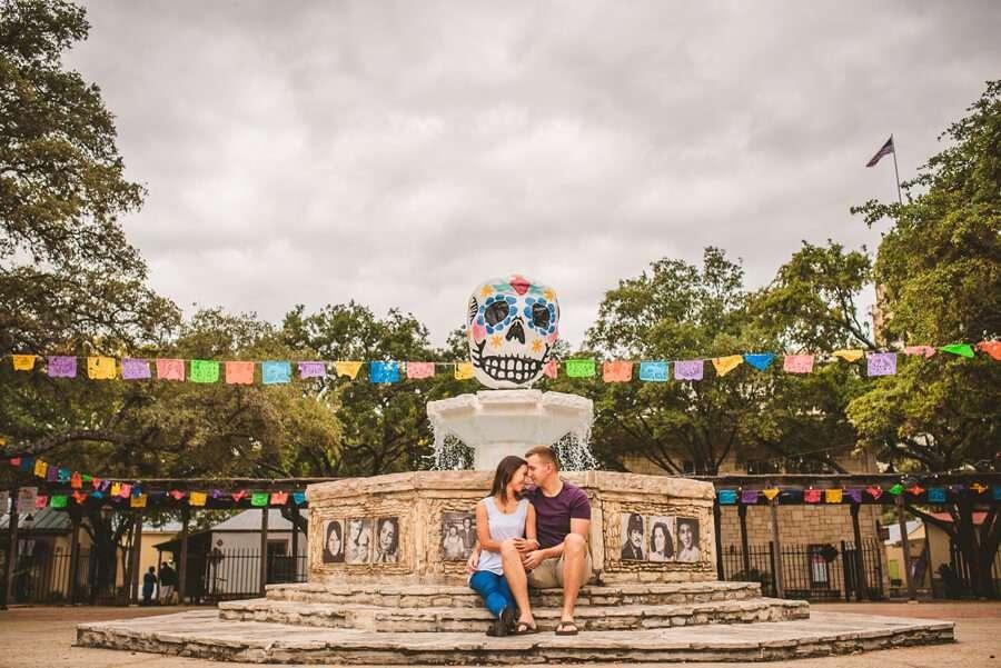 Downtown San Antonio Engagement Photos