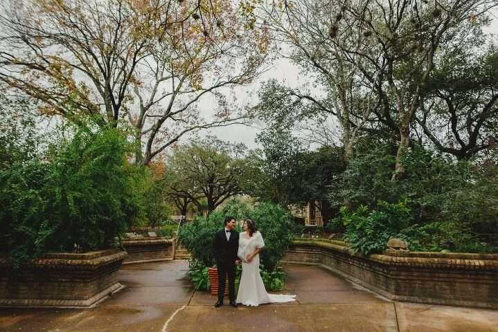 Wedding At San Antonio Botanical Garden